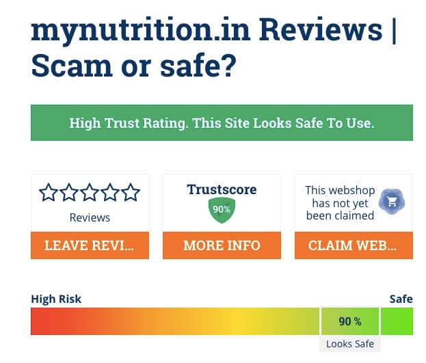 Mynutrition.in Review