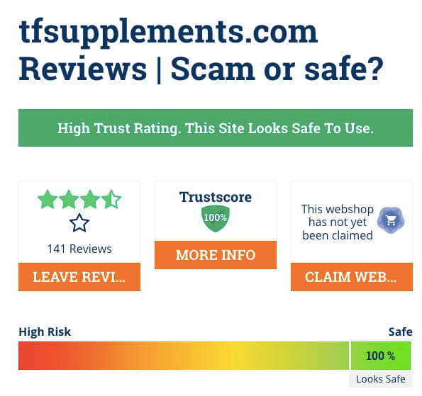 Tfsupplements.com Review 2019