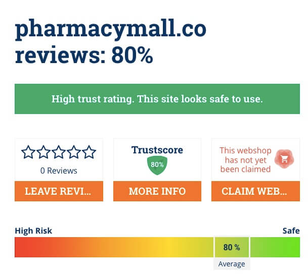 pharmacymall.co scamadviser