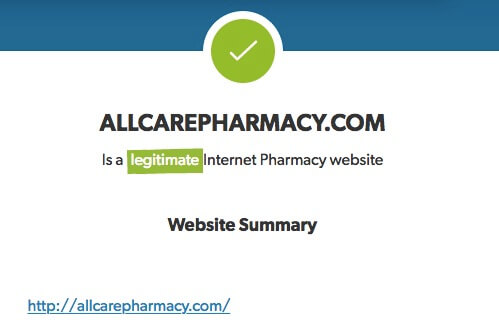 Allcarepharmacy Review