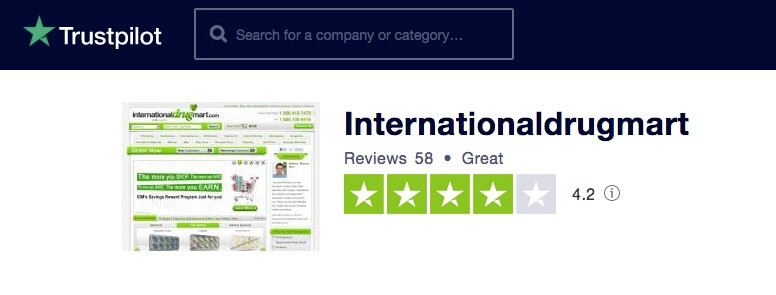 Internationaldrugmart.com Reviews