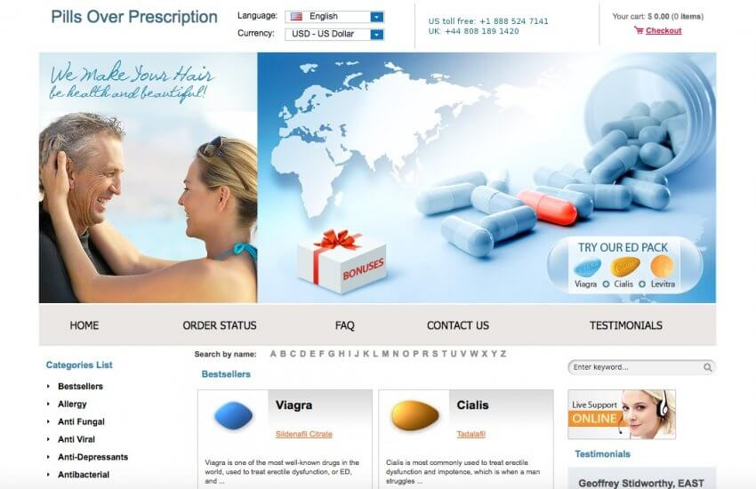 Pillsoverprescription.com