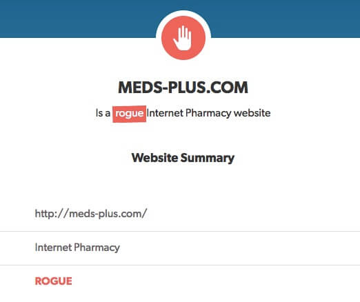 Meds-plus.com review on legitscript
