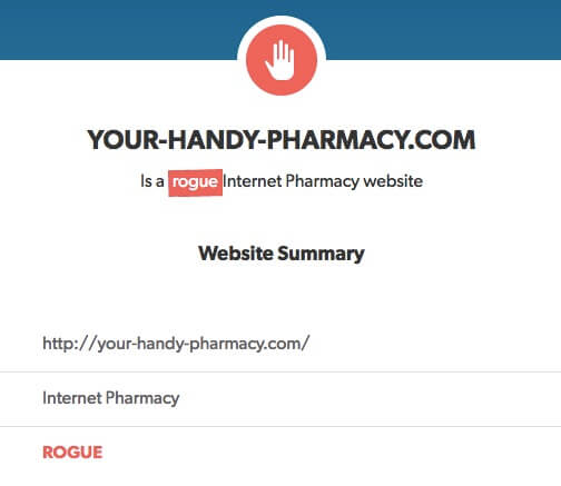 Your-handy-pharmacy.com Review