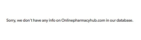Onlinepharmacyhub.com Review